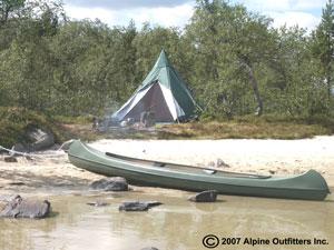 Canoe-trip-tipitent