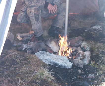 Fire-in-Tipi