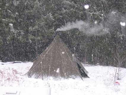 snow-smoke