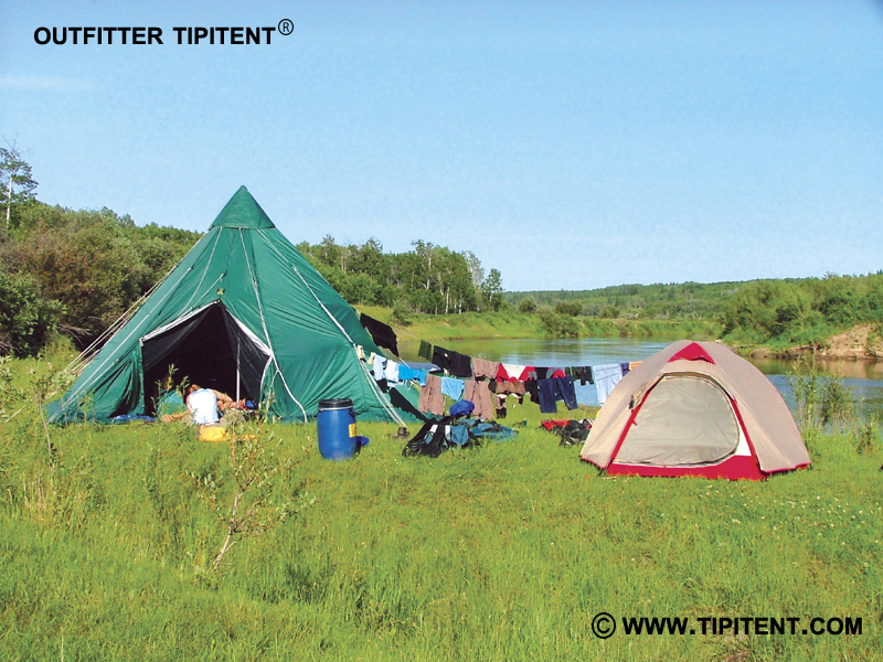 river-camping-tipitent
