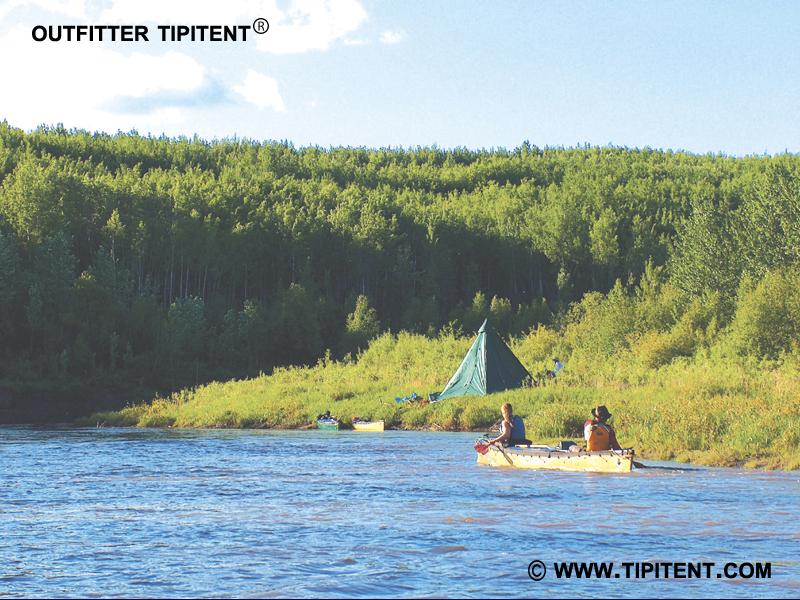tipitent-canoe-trip