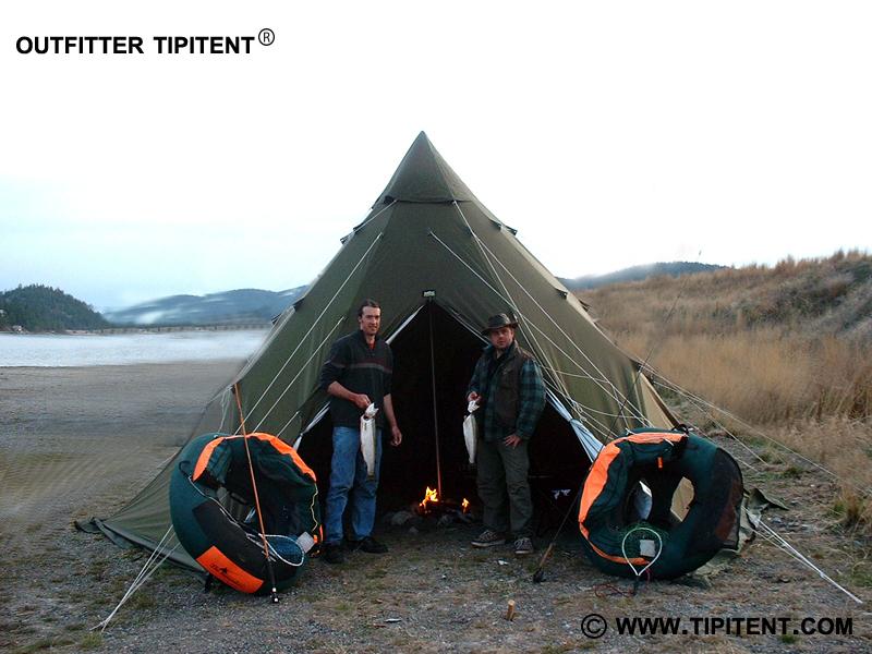 tipitent-fishing