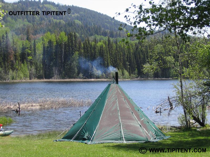 tipitent-lake-fishing