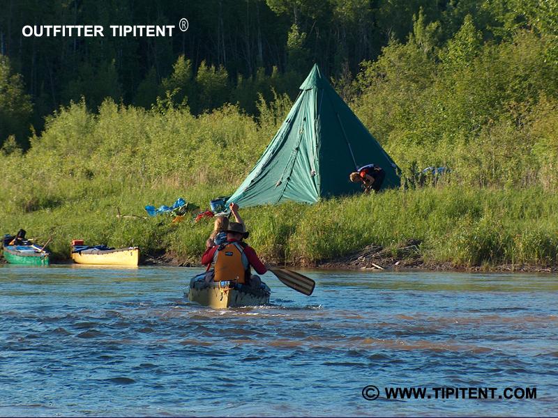 tipitent-river-canoe-campin